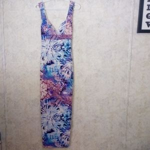 NWT Fashion Nova Mixed Feelings maxi dress